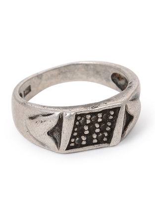 Tribal Silver Ring (Ring Size -8.5)
