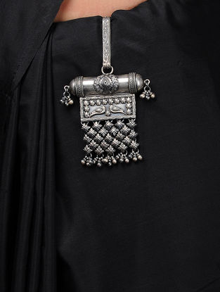 Tribal Silver Keychain