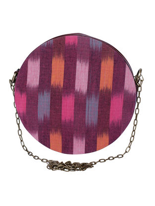 Multicolored Ikat Cotton Sling Bag