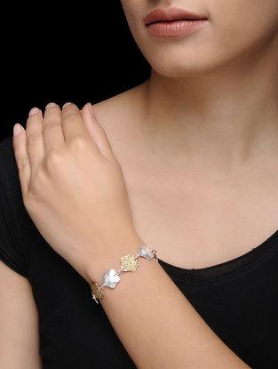 Dual Tone Silver Bracelet