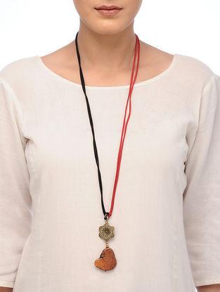 Orange Howlite Necklace