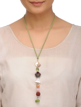 Tourmaline and Rose Quartz Necklace