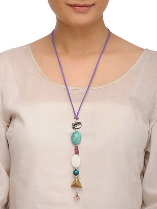 Tourmaline and Agate Necklace