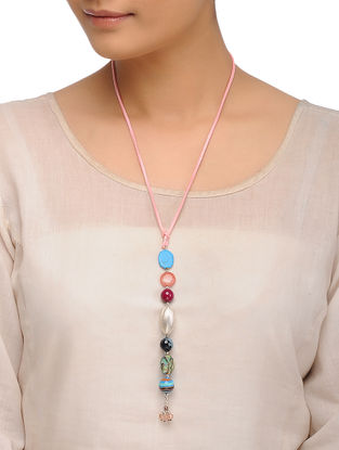 Howlite and Tourmaline Necklace