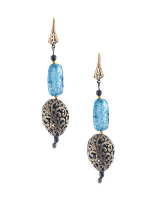 Tourmaline Beaded Earrings