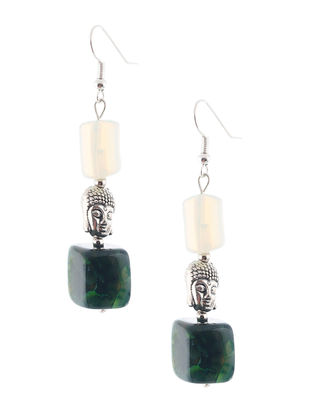 Agate Beaded Earrings