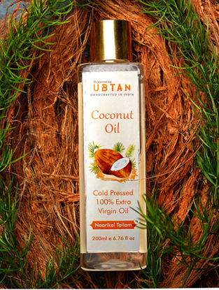 Cold Pressed Extra Virgin Coconut Oil -200ML