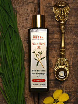Herb Enriched Head Massage Oil -200ML