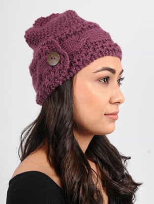 Pink Wool cap