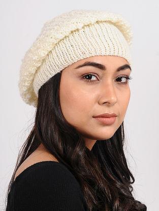 Ivory Wool cap