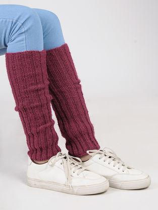 Pink Wool Leg Warmer