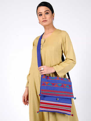 Multicolored Handcrafted Cotton Bag