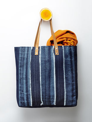 Indigo Handcrafted Denim Tote