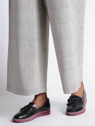 Grey-Coral Organic Cotton Pants