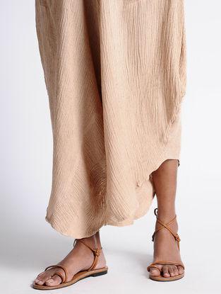 Coral Cotton Dhoti Pants