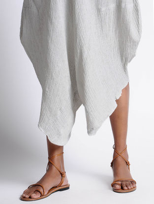 Ivory Cotton Dhoti Pants