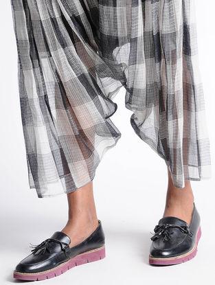 Grey Kota Silk Pants
