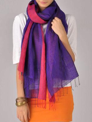 Ultramarine Silk Wool Stole