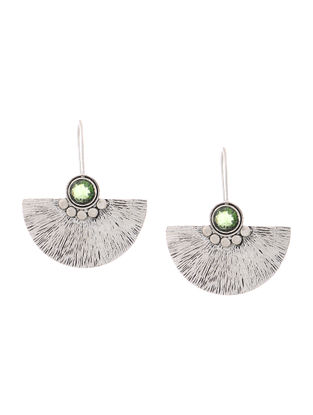 Peridot Silver Earrings