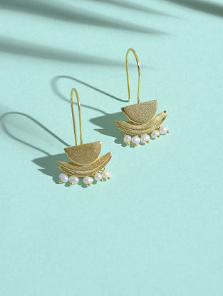 Fresh Water Pearl Gold-plated Silver Earrings