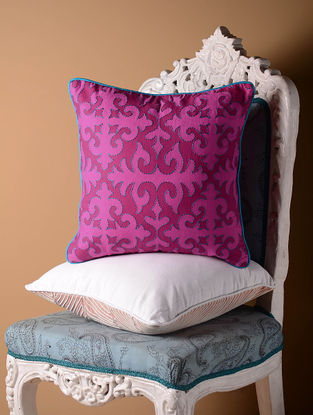 Pink Shrydak Cushion Cover  16in x 16in
