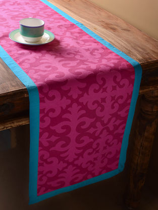 Red Shrydak Table Runner  60in x 14.5in