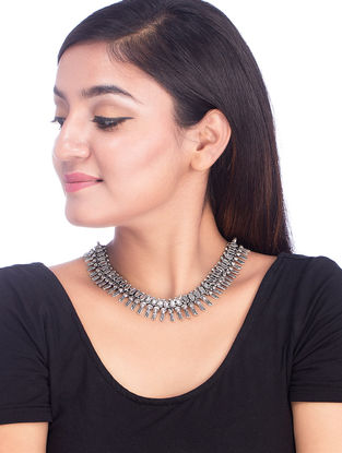 Classic Silver Tone Necklace