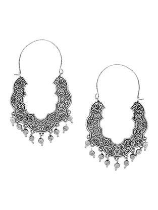 Classic Silver Tone Earrings
