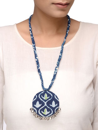 Indigo Embellished Necklace