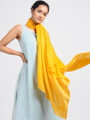 Yellow Pashmina/Cashmere Shawl