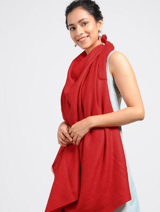 Red Pashmina/Cashmere Shawl