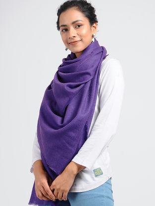 Purple Pashmina/Cashmere Shawl