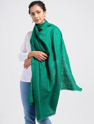 Green Pashmina/Cashmere Shawl