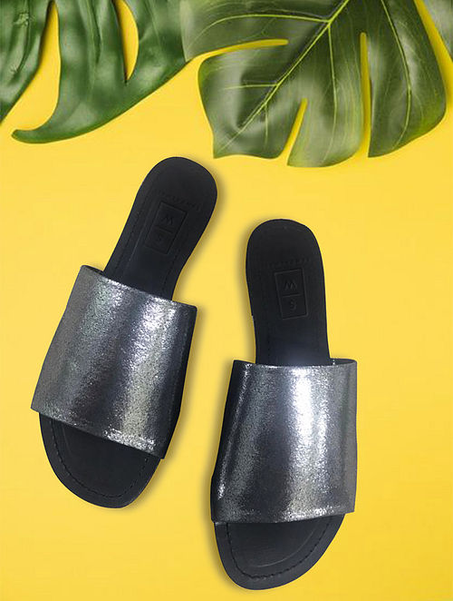 Black Handcrafted Leather Flats