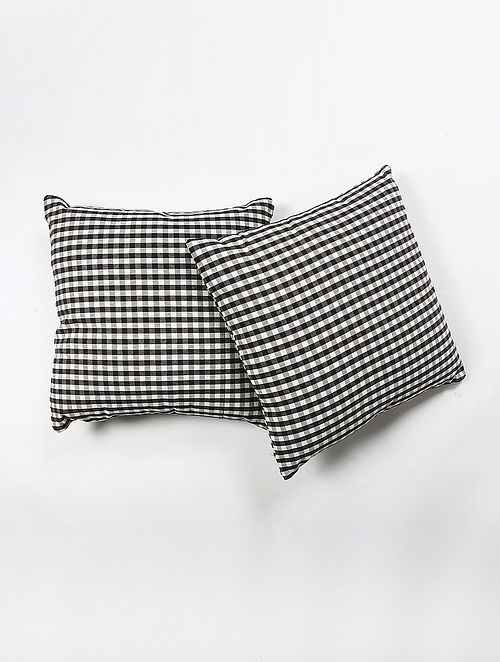 Radhie Cotton Printed Cushion Cover Set of 2 (20in X 20in)