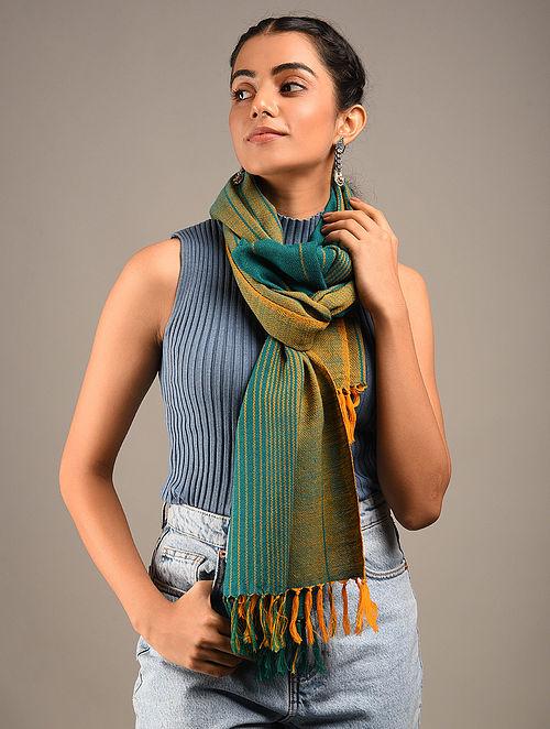 Multicolour Handwoven Wool Stole
