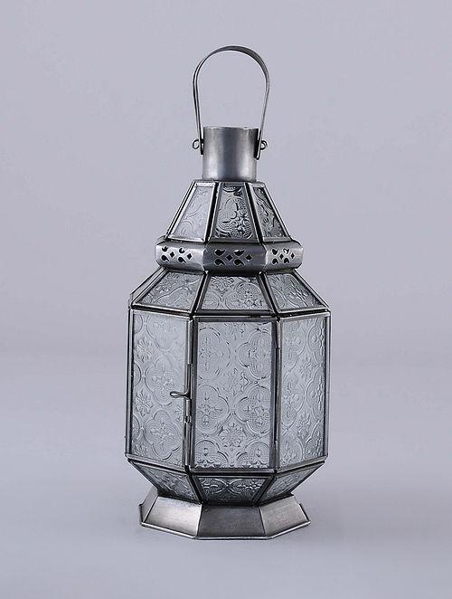 Antique Silver Handcrafted Lantern