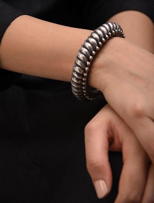 Silver Sutlada Openable Bangle (Size: 2.6)