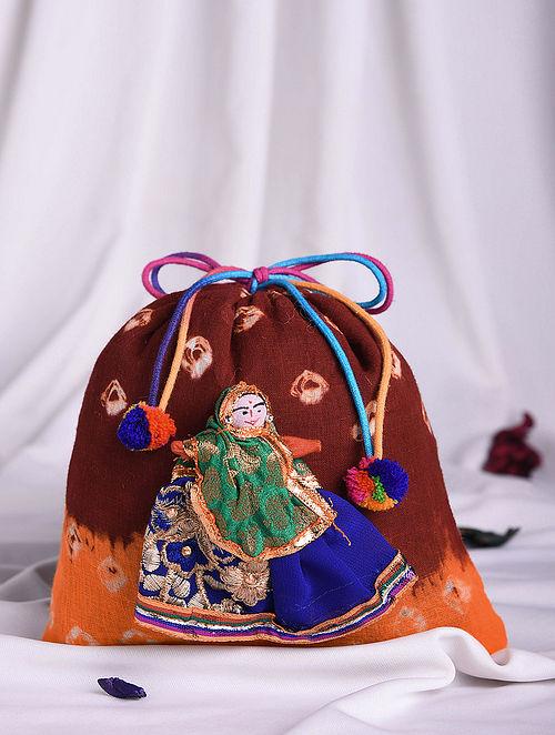 Multicolored Handmade Cotton Potli