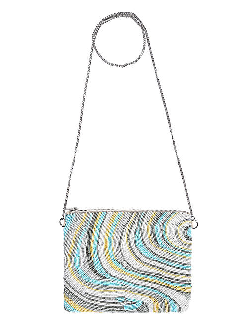 Multicolored Handcrafted Sling Bag