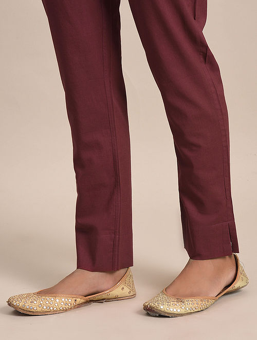 Majenta Cotton Pants
