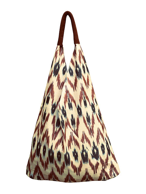 Multicolored Handcrafted Cotton Tote Bag