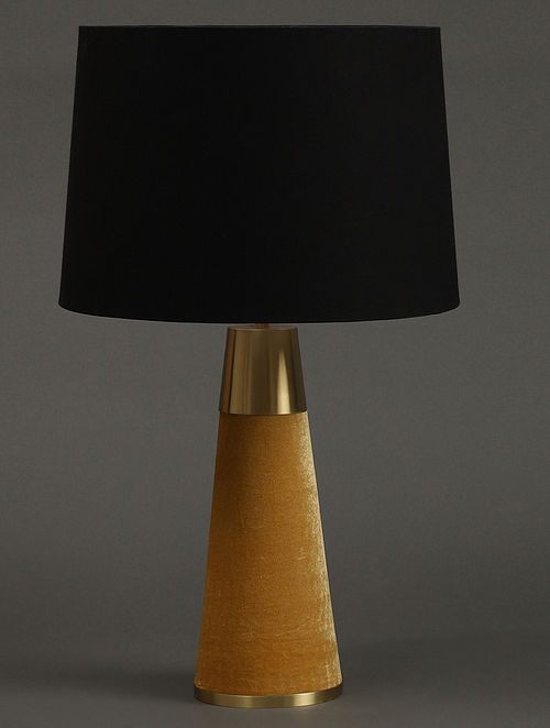 Yellow Table Lamp With Shade