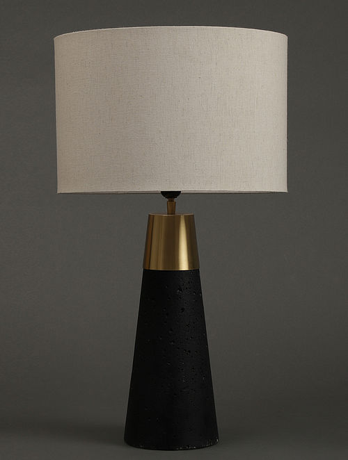 Black Table Lamp With Shade