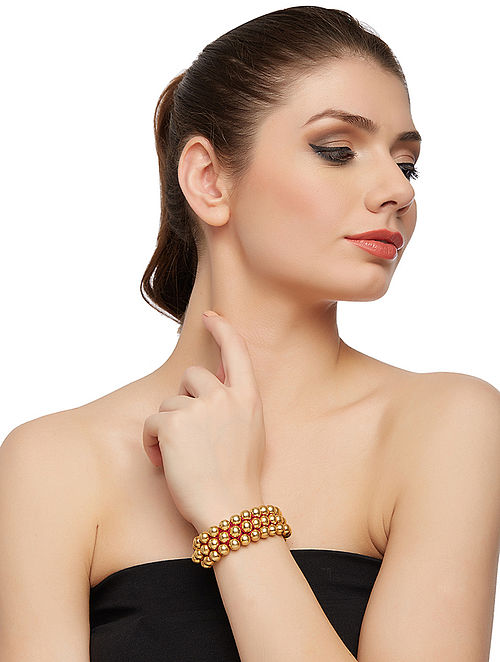 Gold-plated Silver Bracelet