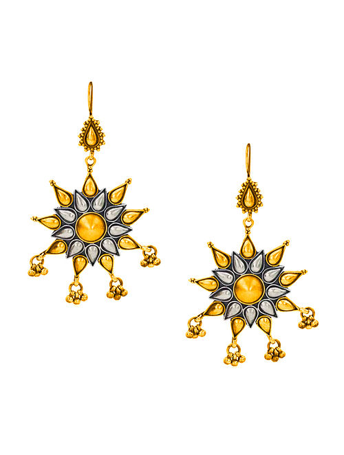 Eclectic Gold-plated Sterling Silver Earrings