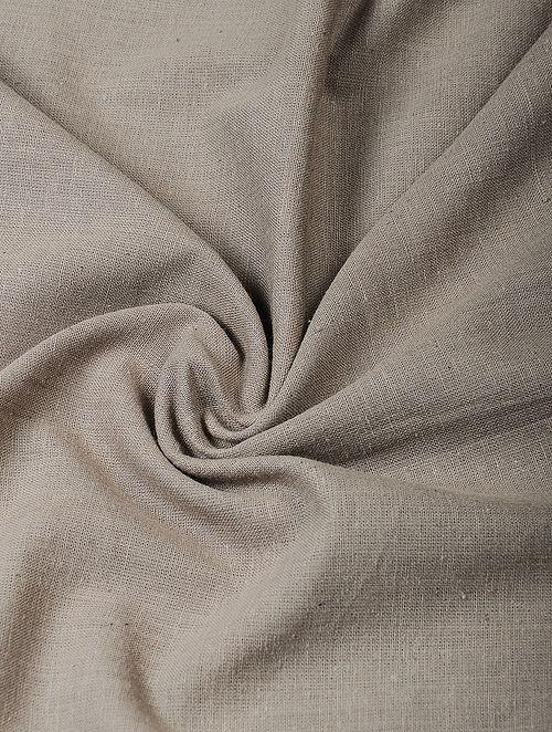 Grey Handloom Cotton Fabric