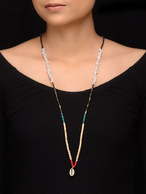 Multicolored Glass Beaded Handcrafted Necklace