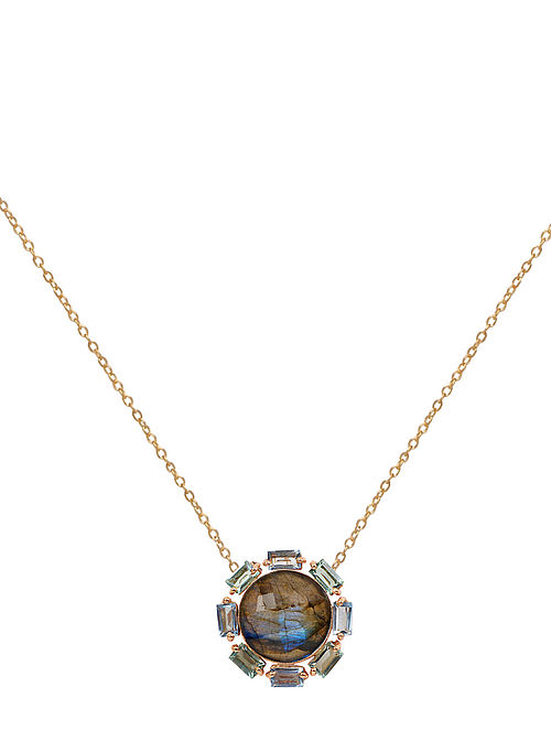 Blue Orb Fiona Necklace
