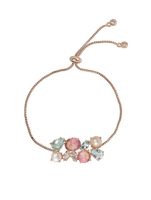 Pink-Blue Candy Cabana Friendship Bracelet
